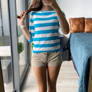 Zara Light Knit Nautical Top